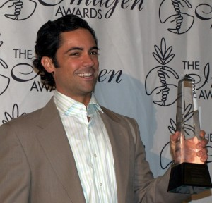 "Actor, Danny Pino formerly on the CBS Drama ""Cold Case"""