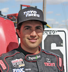 People | Rodrigo Ampudia Joins Team Toyo® Off-Road in 2012