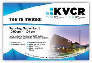 EVENT | This Saturday – KVCR-PBS Ice Cream Social