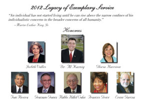 Event | 2012 Legacy of Exemplary Service