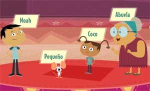 Oh Noah, Introducing kids to Spanish