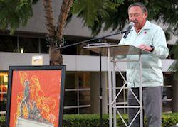 Community   Ground Breaking Cesar Chavez Memorial
