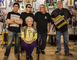 People | Los Lobos performed at Fender legend Abigail Ybarra Retirement