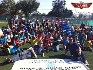 PLANES visit Boys and Girls Club of East LA