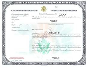 USCIS Redesigns Replacement Citizenship and Naturalization Certificates