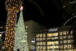 Tree Lighting Union Square – San Francisco