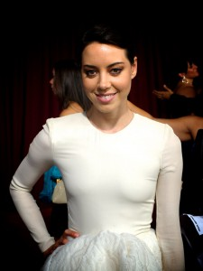 Actress Aubrey Plaza