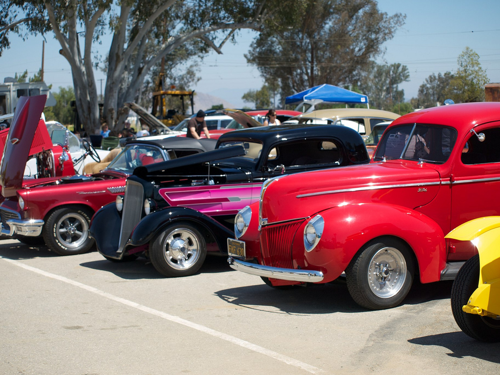 Photos   Rods and Rails event