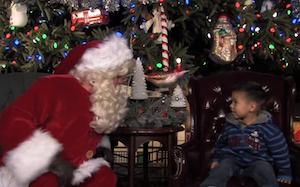 Travel   Holiday Visit With Santa