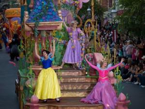 Snow White, Rapunzel, Aurora