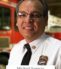 Community | Mike Esparza Riverside's Interim Fire Chief
