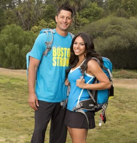 Amy with  boyfriend Jason Case