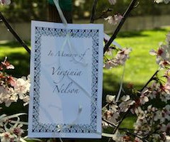 Arbor Day Celebration Remembers Virginia Nelson