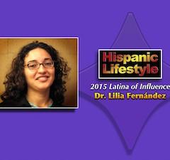 Latina of Influence   Lilia Fernandez Ph.D