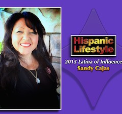 Latina of Influence | Sandy Cajas