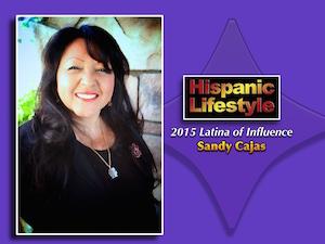 Latina of Influence   Sandy Cajas