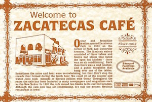 Business | Zacatecas Cafe