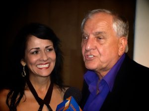 Shayla Rivera with the late producer, director Garry Marshall back in 2009