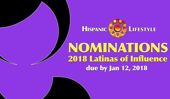 NOMINATIONS | 2018 Latinas of Influence
