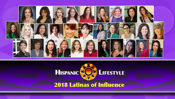 Hispanic Lifestyle's 2018 Latinas of Influence