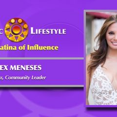 2018 Latina of Influence |  Alex Meneses