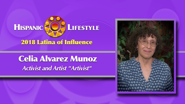2018 Latina of Influence | Celia Álvarez Muñoz