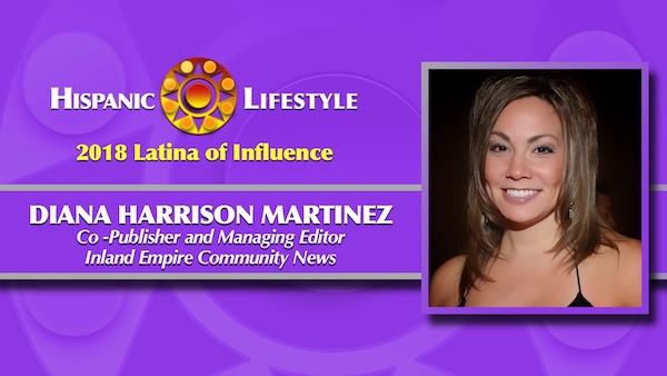 2018 Latina of Influence | Diana Harrison Martinez