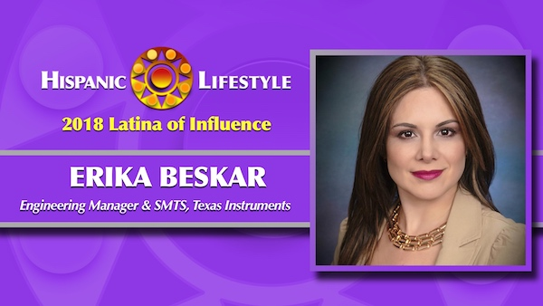 2018 Latina of Influence |  Erika Beskar