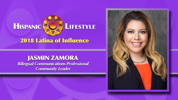 2018 Latina of Influence | Jasmin Zamora