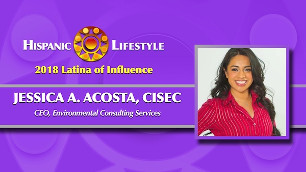 2018 Latina of Influence | Jessica A. Acosta, CISEC