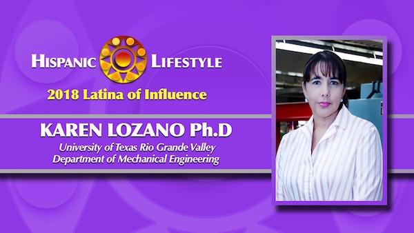 2018 Latina of Influence | Dr. Karen Lozano