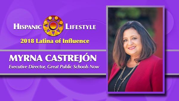 2018 Latina of Influence | Myrna Castrejón