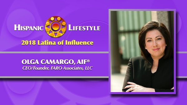 2018 Latina of Influence | Olga Camargo, AIF®