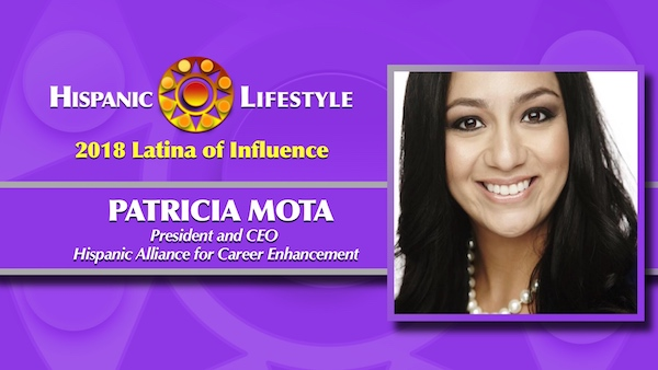 2018 Latina of Influence | Patricia Mota