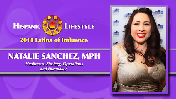 2018 Latina of Influence | Natalie Sanchez,  MPH