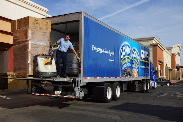 Goya Foods Donates 36,000 pounds of food to Feeding San Diego and the Imperial Valley Food bank
