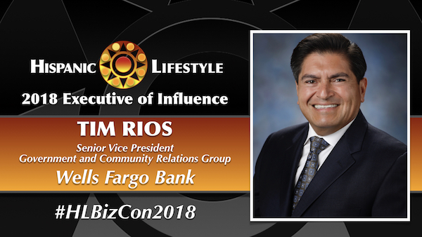 2018 Executive of Influence | Tim Rios