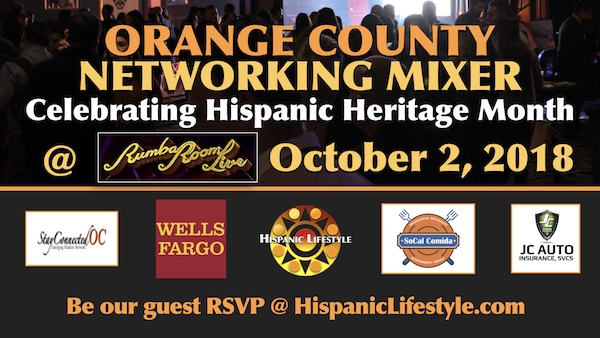 Orange County Hispanic Heritage Month Networking Mixer | Oct 2, 2018