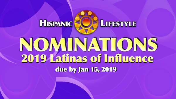 2019 Latina of Influence – NOMINATIONS