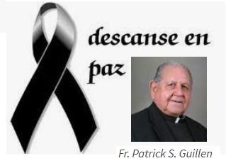 MILESTONE : Fr. Patrick S. Guillen 1929 – 2019