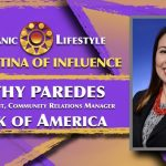2019 Latina of Influence Cathy Paredes | Vice President, Community Relations Manager Bank of America