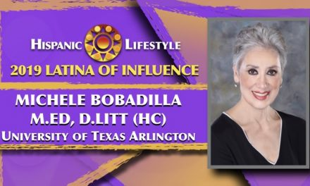 2019 Latina of Influence Michele Bobadilla, M.Ed, D.Litt (hc) | The University of Texas at Arlington