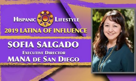 2019 Latina of Influence Sofia Salgado | Executive Director MANA de San Diego