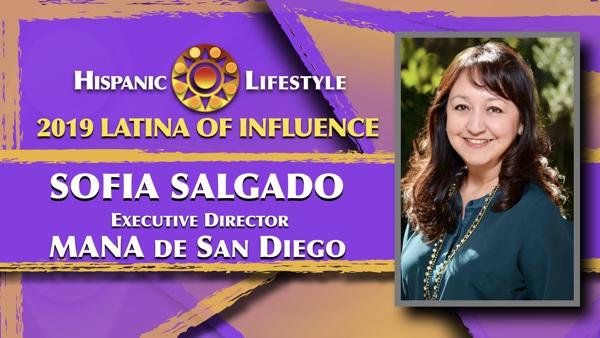 2019 Latina of Influence Sofia Salgado |Executive Director MANA de San Diego