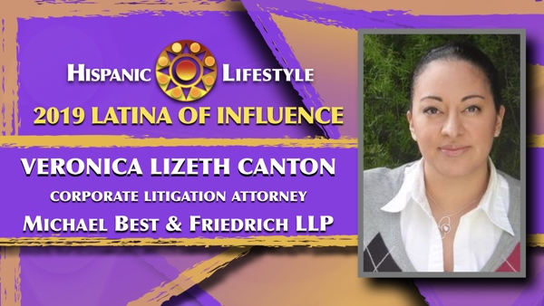 2019 Latina of Influence | Attorney Veronica Lizeth Canton