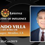 2019 Executive of Influence   Armando Villa, AICP, CEP, ICMA-CM – City Manager,  Menifee California