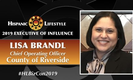 2019 Executive of Influence | Lisa Brandl – Chief Operating Officer,  County of Riverside.