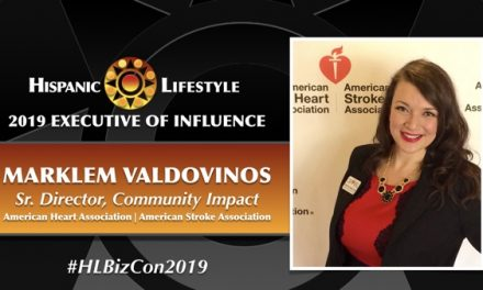 2019 Executive of Influence | Marklem Valdovinos Sr. Community Impact Director,  American Heart Association (AHA)