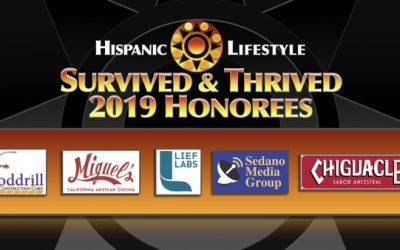 2019 Survived and Thrived Businesses   The Honorees