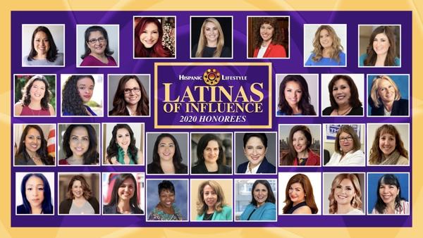 Hispanic Lifestyle's 2020 Latinas of Influence